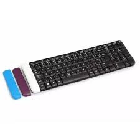 TECLADO LOGITECH K230 USB, WIRELESS, PRETO