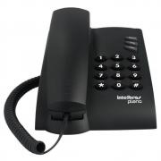 TELEFONE INTELBRAS PLENO COM CHAVE DE BLOQUEIO PRETO