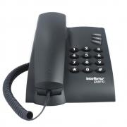 TELEFONE INTELBRAS PLENO PRETO COM CHAVE DE BLOQUEIO