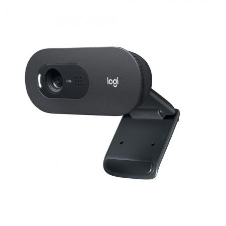 WEBCAM LOGITECH C505E, HD 720P, COM MICROFONE