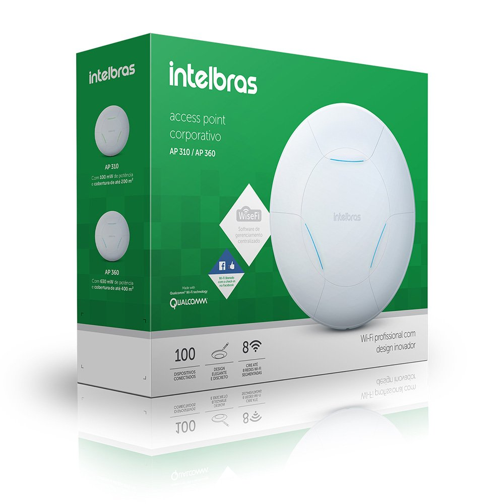 ACCESS POINT INTELBRAS AP 360, 300MBPS - 4750009
