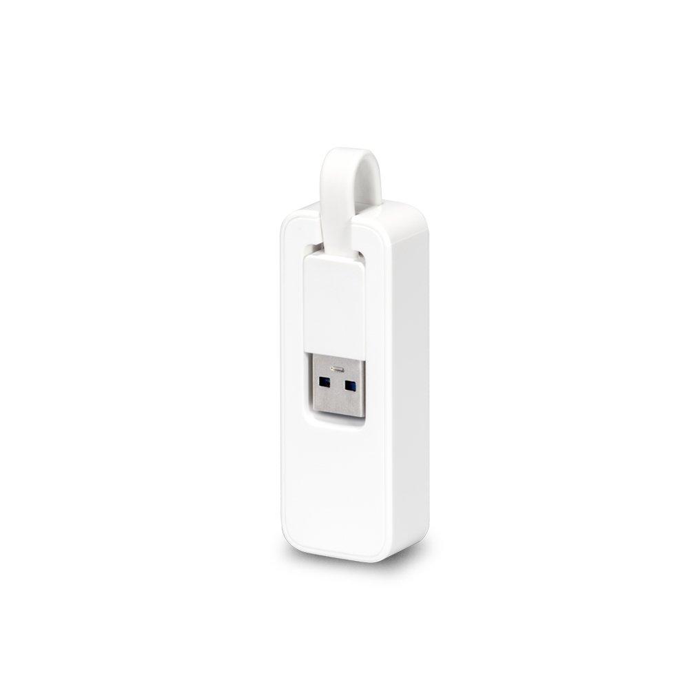 ADAPTADOR DE REDE TP-LINK UE300 PARA ETHERNET GIGABIT, USB 3.0