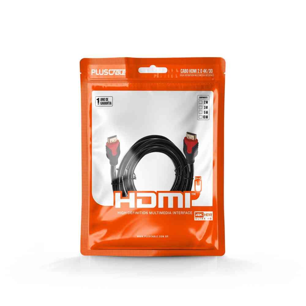 CABO HDMI PLUS CABLE V2.0, 5M - PC-HDMI50M