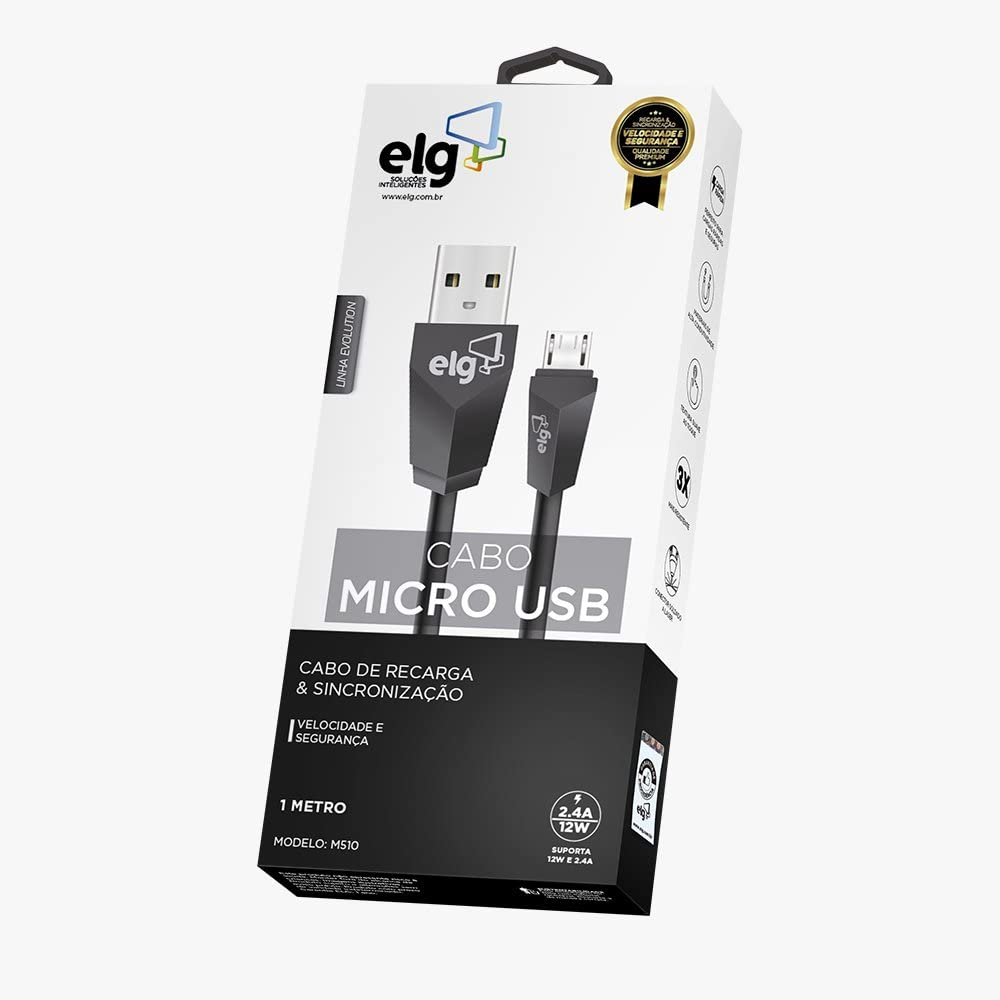 CABO MICRO USB/MICRO  M510 ELG 1M