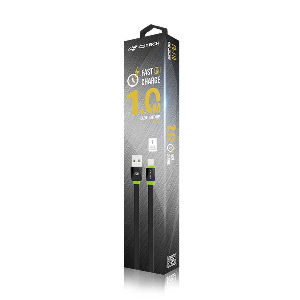 CABO USB-LIGHTNING CB-110BK C3TECH