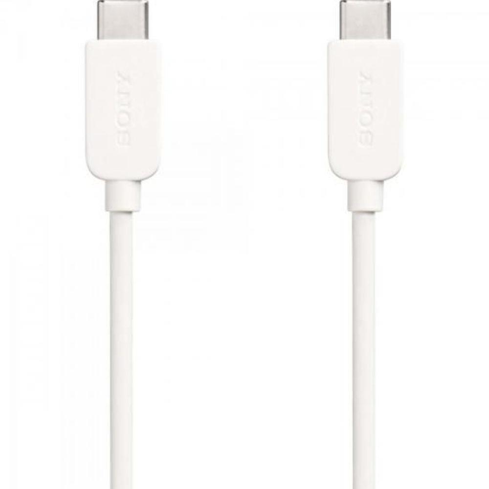 CABO USB TIPO C SONY CP-CC100 - BRANCO