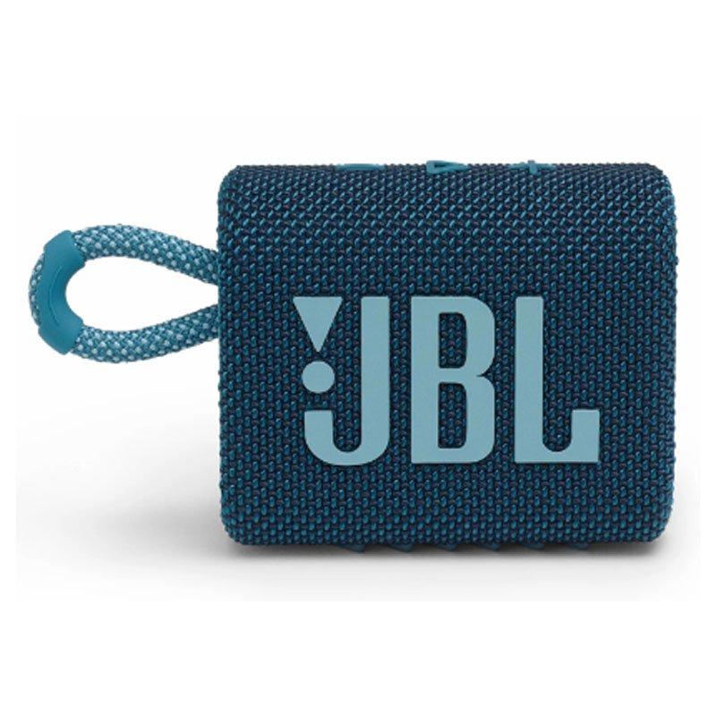 CAIXA DE SOM JBL GO 3 BLUETOOTH AZUL