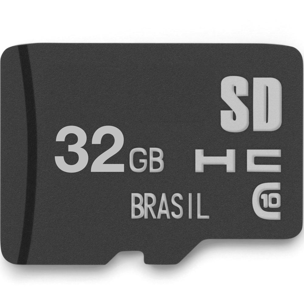 CARTÃO DE MEMÓRIA - MULTILASER CLASSE 10 32GB - MC145