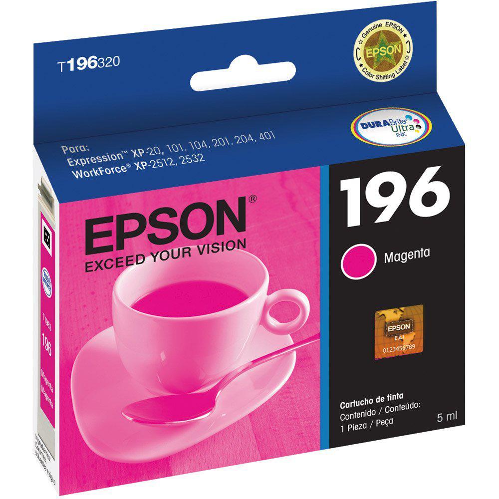 CARTUCHO DE TINTA EPSON T196320-BR MAGENTA