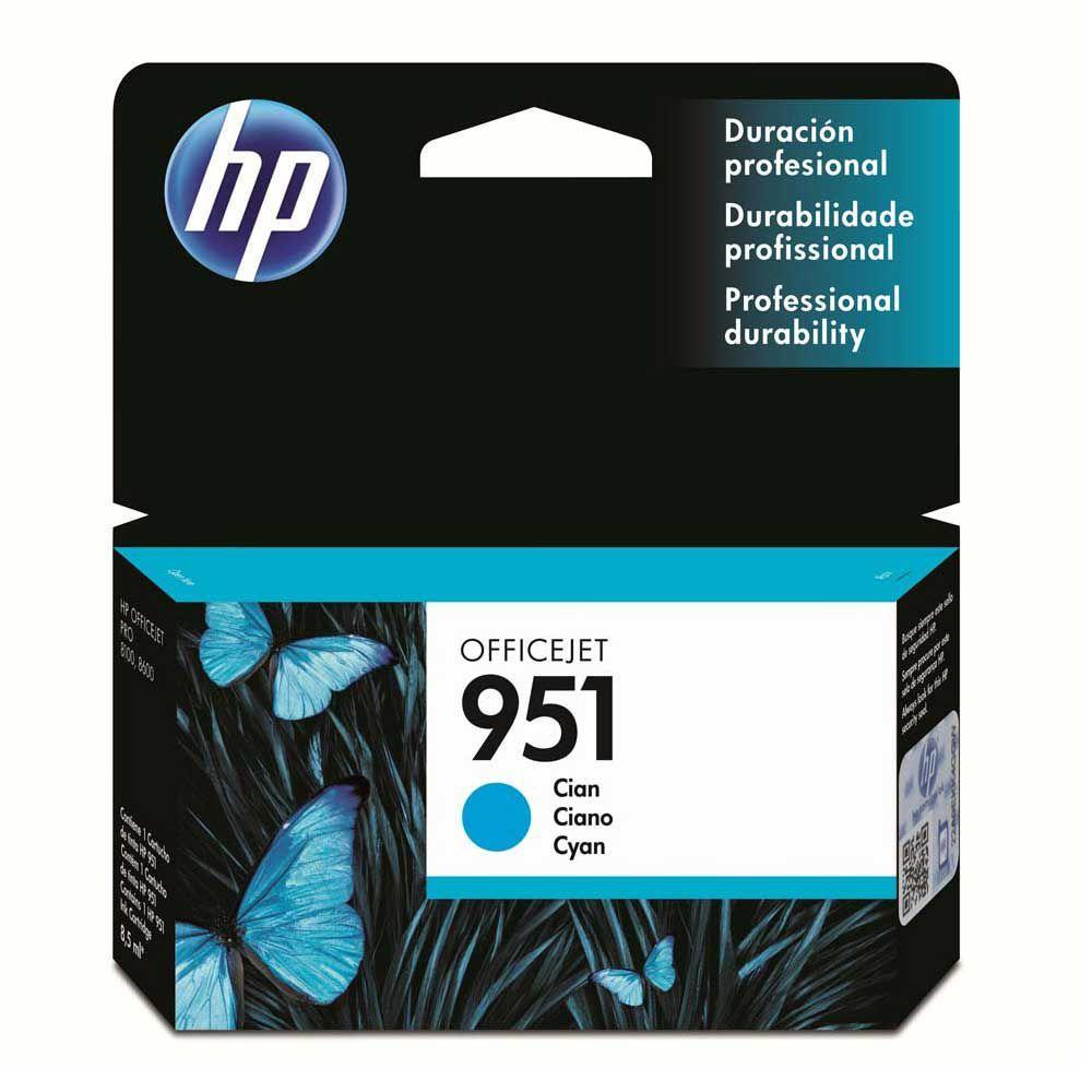 CARTUCHO DE TINTA HP 951 CIANO ORIGINAL