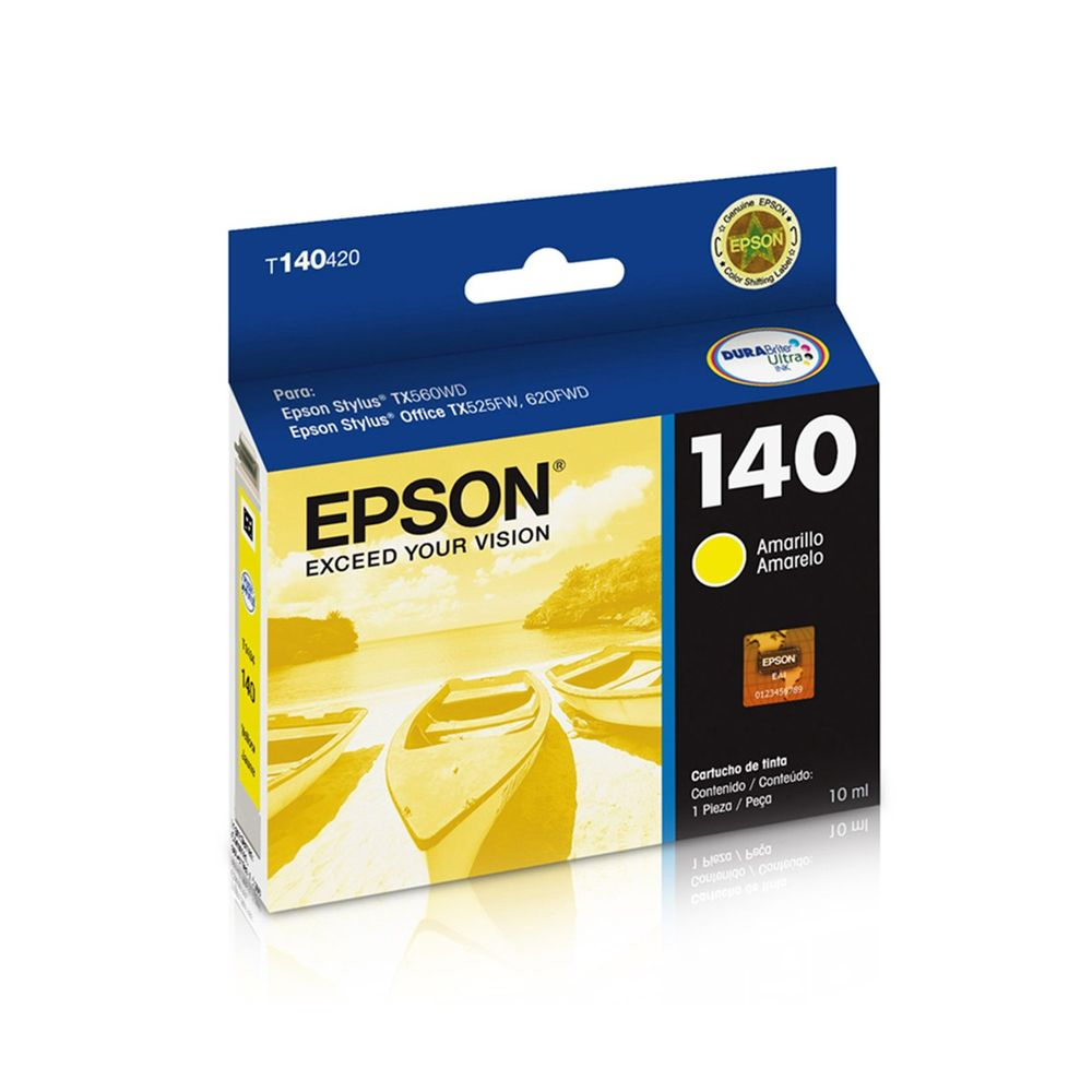 CARTUCHO EPSON 140 ORIGINAL T140420 YELLOW 10ML