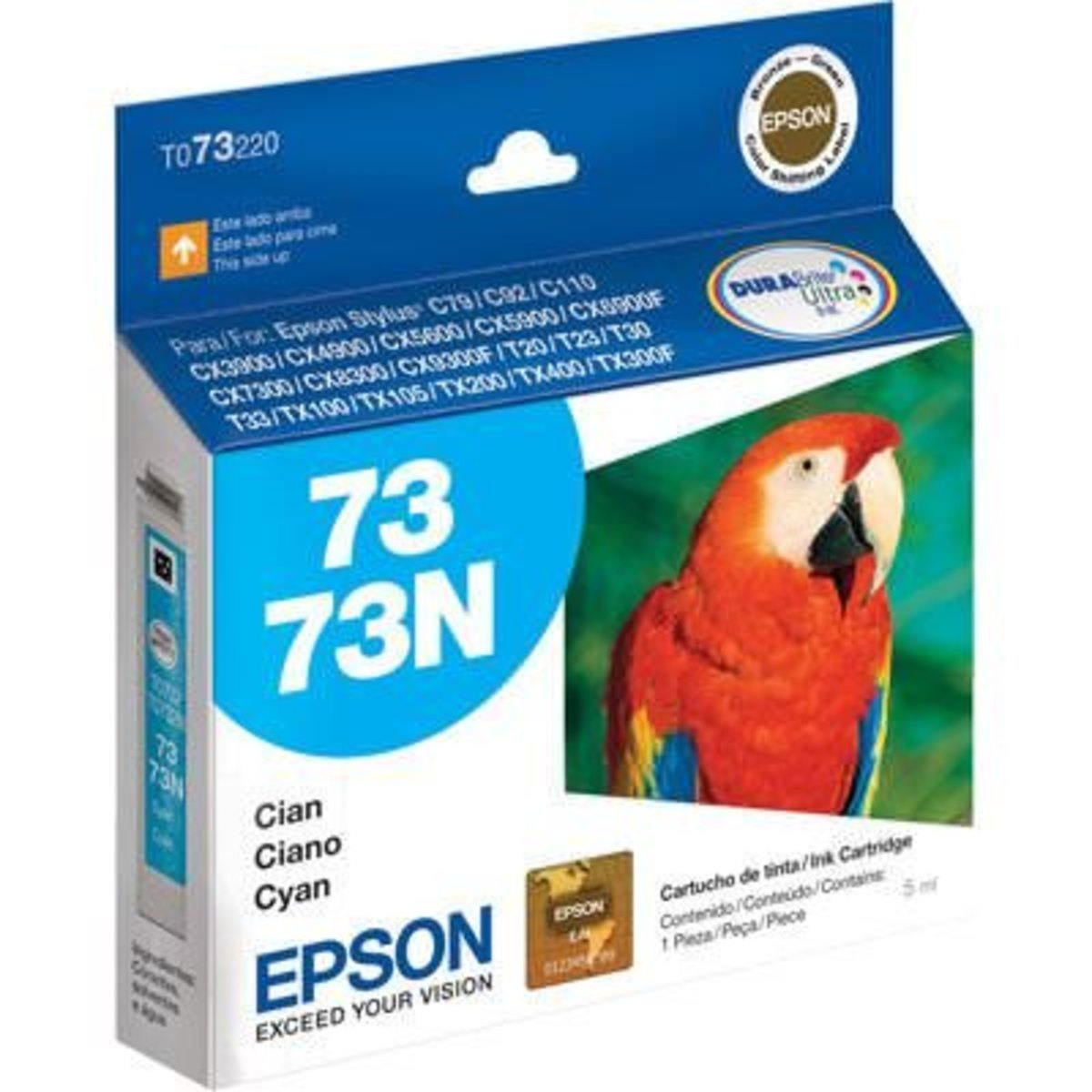 CARTUCHO EPSON 732N CIANO