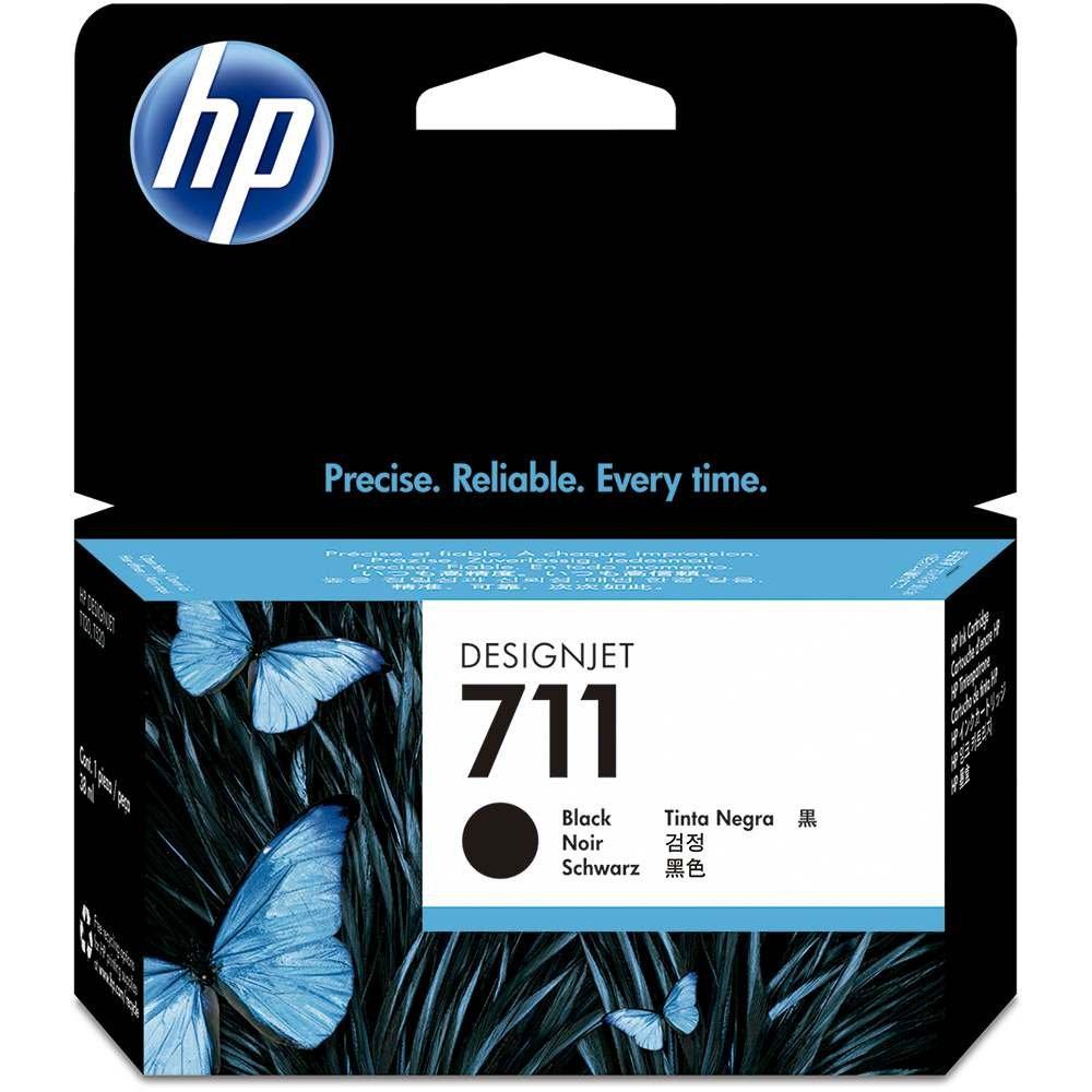 CARTUCHO HP 711 PRETO - 38ML ORIGINAL