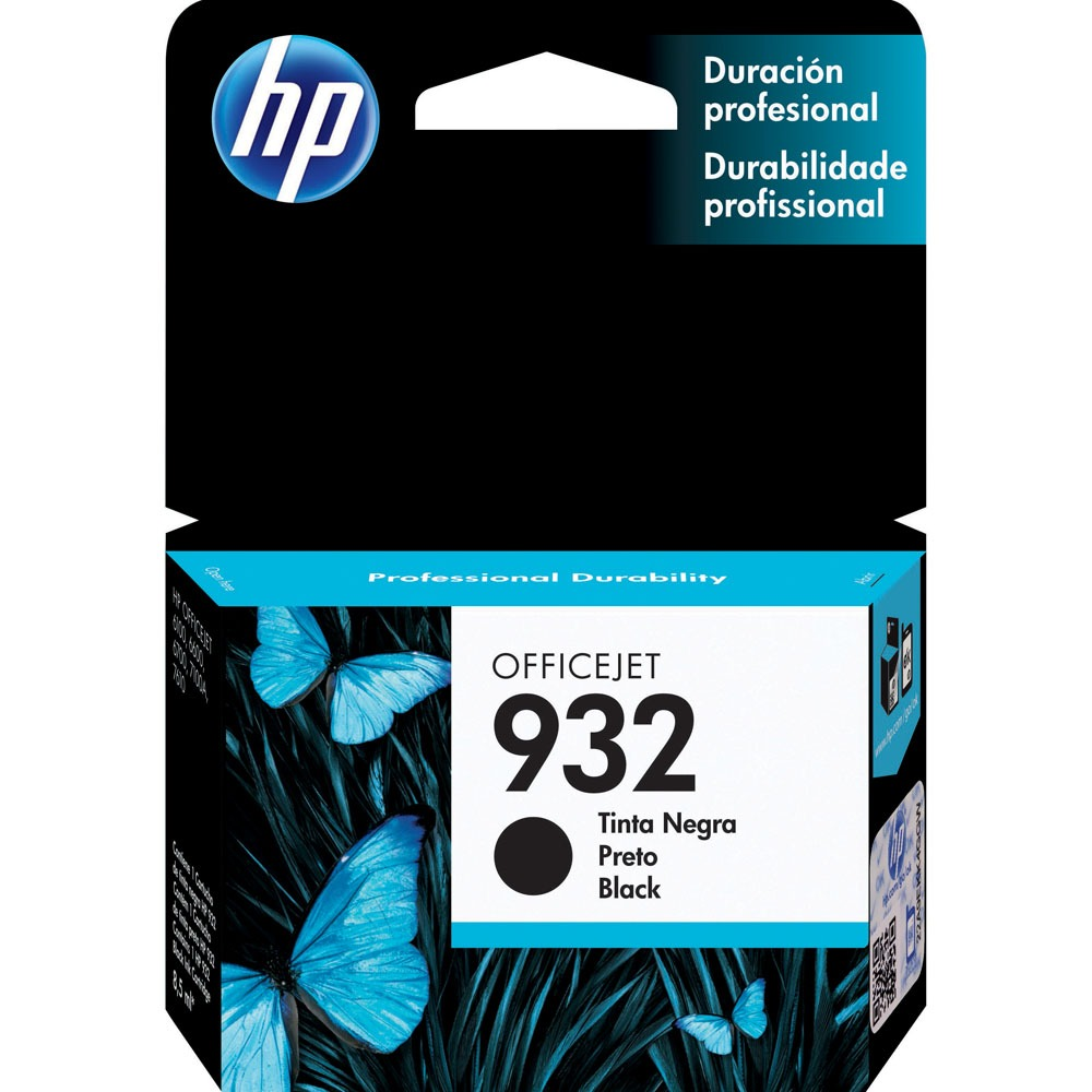 CARTUCHO HP 932  PRETO ORIGINAL