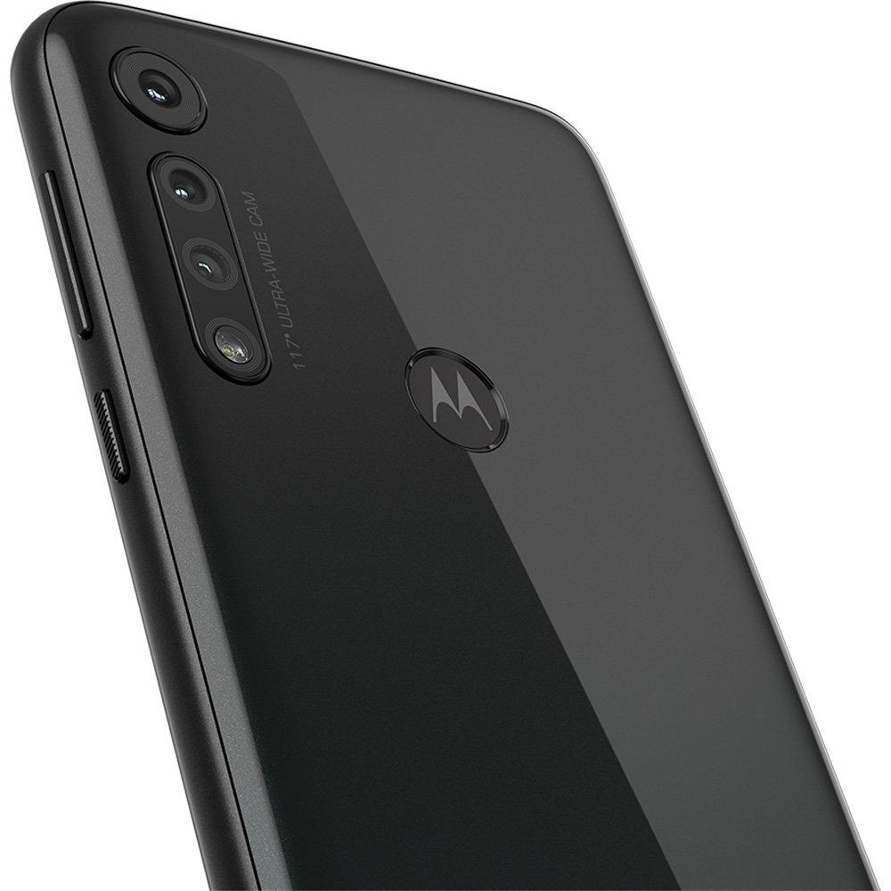 CELULAR SMARTPHONE MOTOROLA MOTO G8 PLAY, 32GB, 13MP, TELA 6.2´, PRETO ÔNIX - XT2015-2