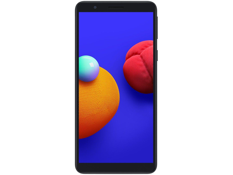 CELULAR SMARTPHONE SAMSUNG GALAXY A013M CORE, 32GB, 8MP, TELA 5.3´, PRETO SM-A013M