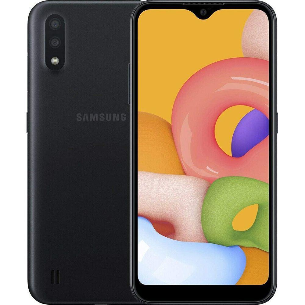 CELULAR SMARTPHONE SAMSUNG GALAXY A01 PRETO TELA 5.7