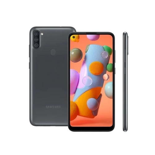 CELULAR SMARTPHONE SAMSUNG GALAXY A11, 64GB, 13MP, TELA 6.4´, PRETO - SM-A115MZKSZTO