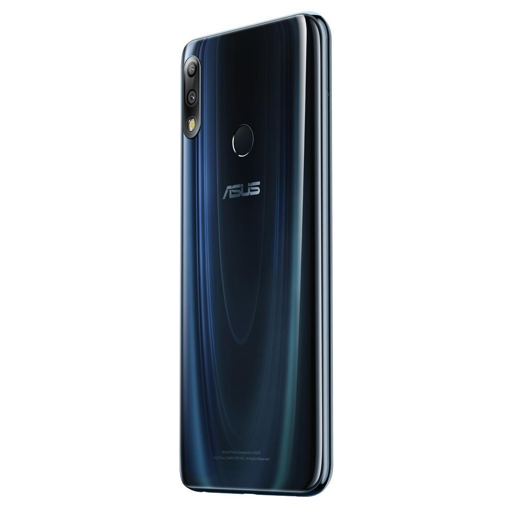 CELULAR ZENFONE MAX PRO M2 ASUS, TELA DE 6,3 4G, 4GB RAM 64GB E CÂMERA DE 12+5 MP BLACK SAPHIRE