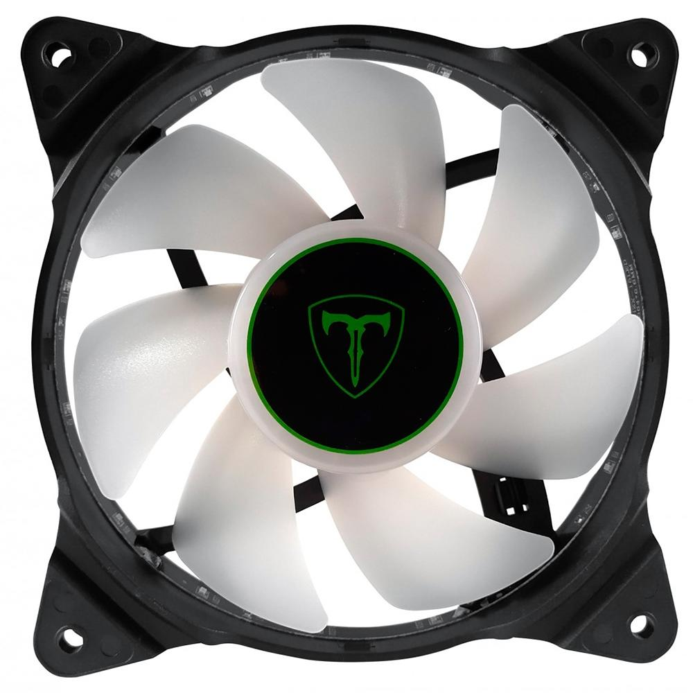 COOLER FAN T-DAGGER, 120MM, LED BRANCO - T-TGF300-W