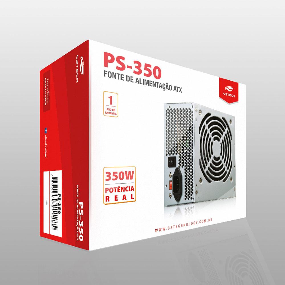 FONTE ATX 350W PS-350 C3TECH