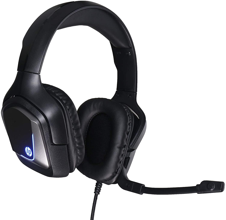 HEADSET GAMER COM ILUMINAÇÃO, 7.1 USB - H220GS HP