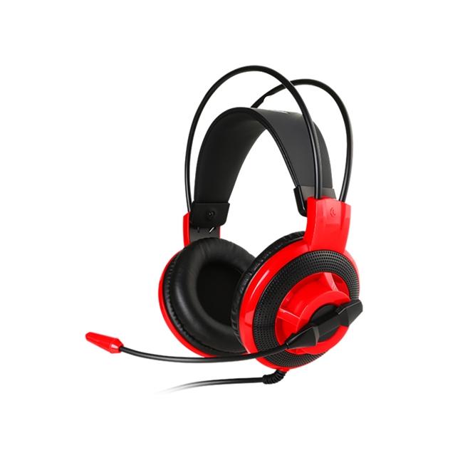 HEADSET GAMER COM MICROFONE MSI DS501 - CONTROLE DE VOLUME
