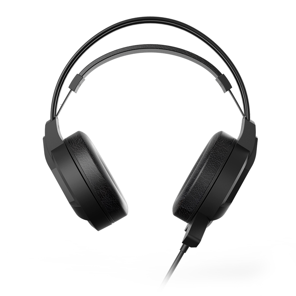HEADSET GAMER HP H100, 2 P2, STEREO, PRETO