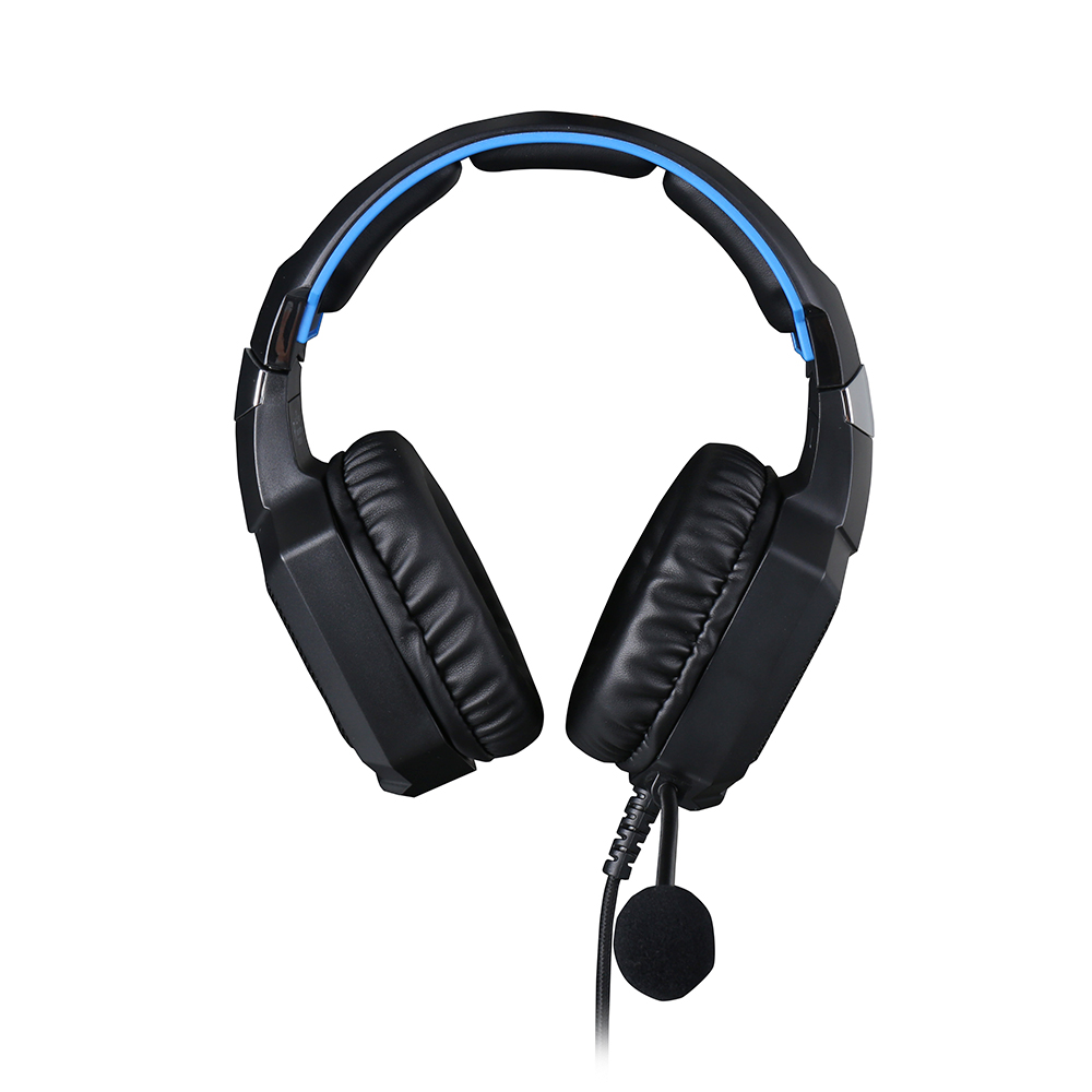 HEADSET GAMER HP H320GS, SURROUND 7.1, LED BLUE, USB