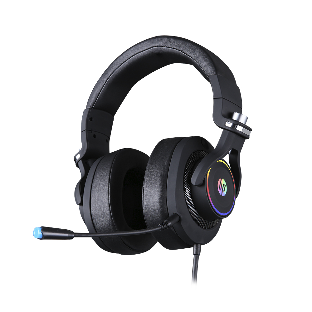 HEADSET GAMER HP H500GS, 7.1 SOM SURROUND, DRIVERS 50MM - H500GS