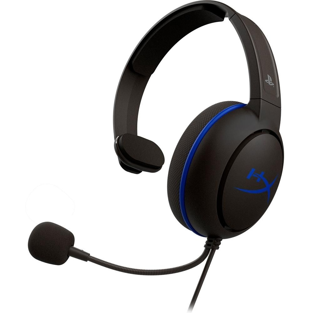 HEADSET HYPERX CLOUD CHAT PS4, DRIVERS 40MM, PRETO HX-HSCCHS-BK/AM - HYPERX