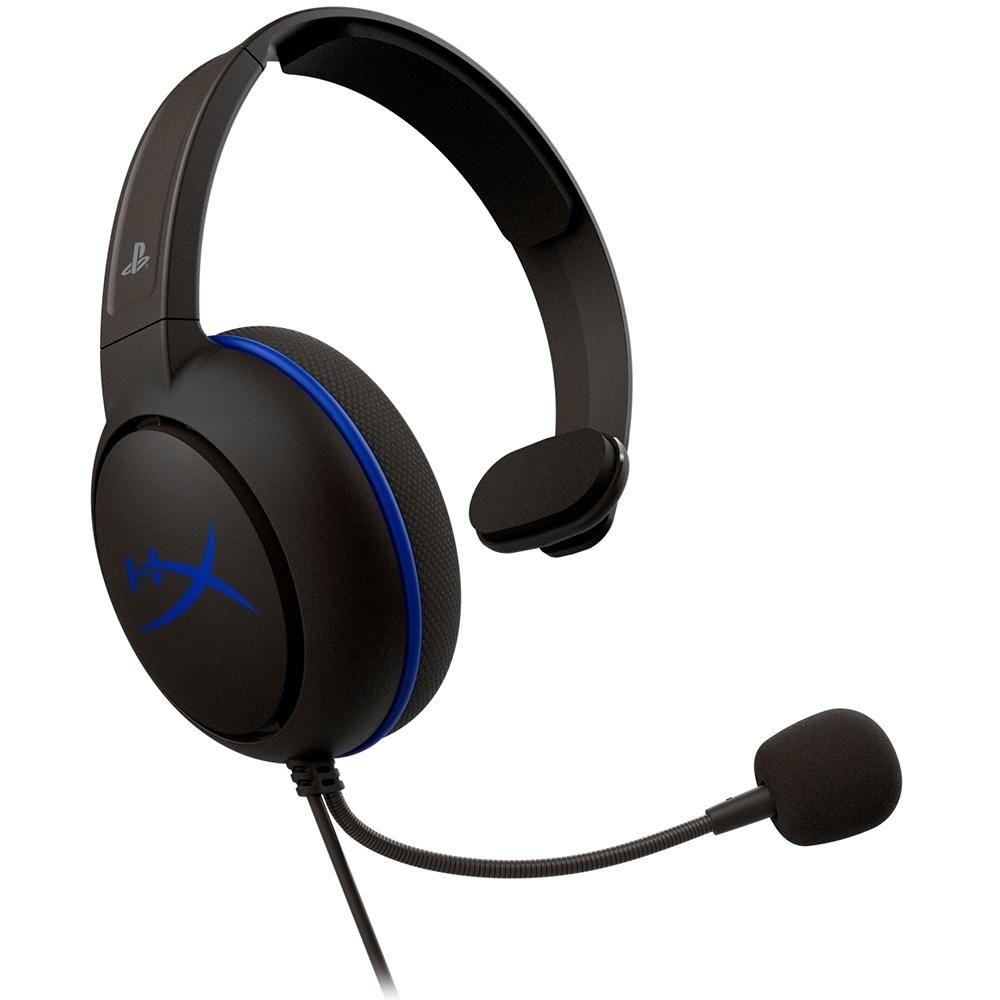 HEADSET HYPERX CLOUD CHAT PS4, DRIVERS 40MM, PRETO HX-HSCCHS-BK/AM - HYPERX