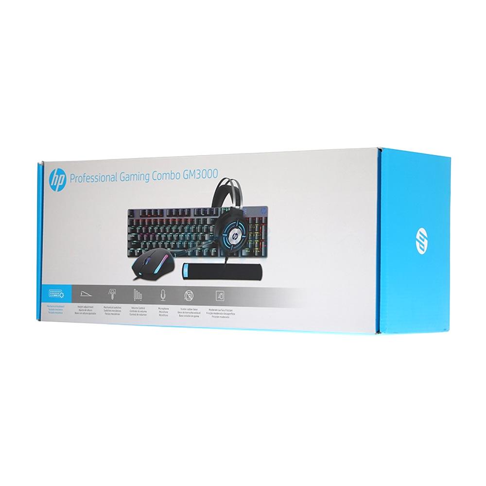 KIT GAMER PRO HP GM3000, 4 EM 1