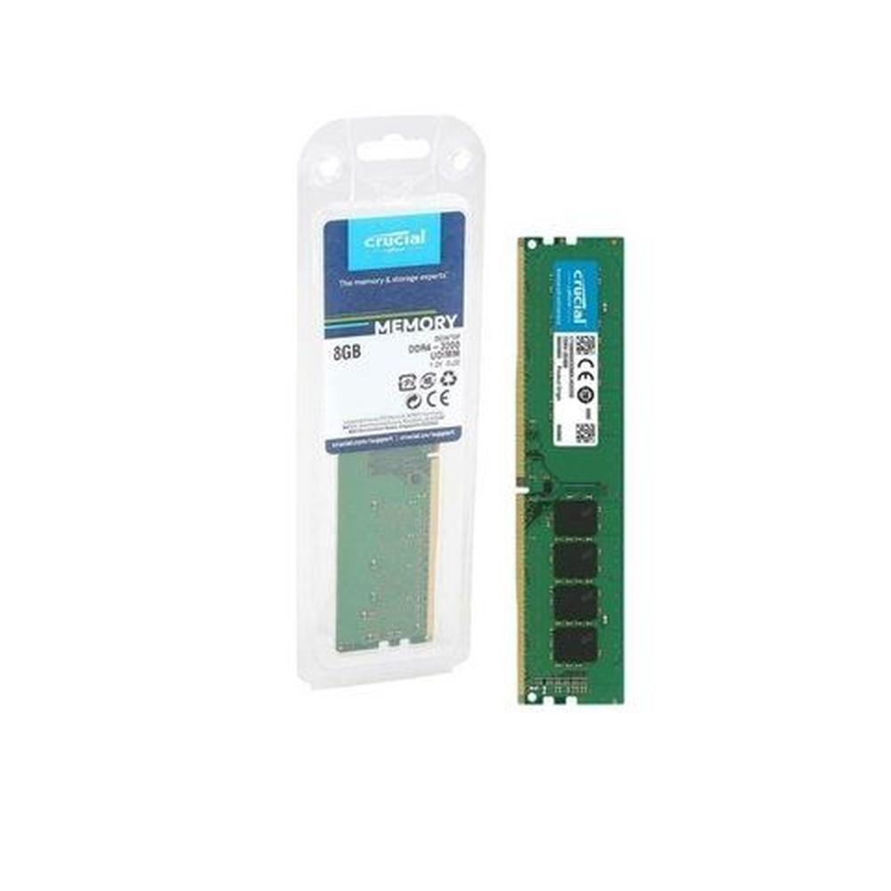 MEMÓRIA  CRUCIAL 8GB DDR4 3200MHZ 1.2V - CT8G4DFS832A