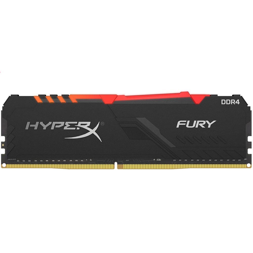 MEMORIA HYPERX FURY RGB 8GB, DDR4, 2666MHZ, CL16 - HX426C16FB3A/8