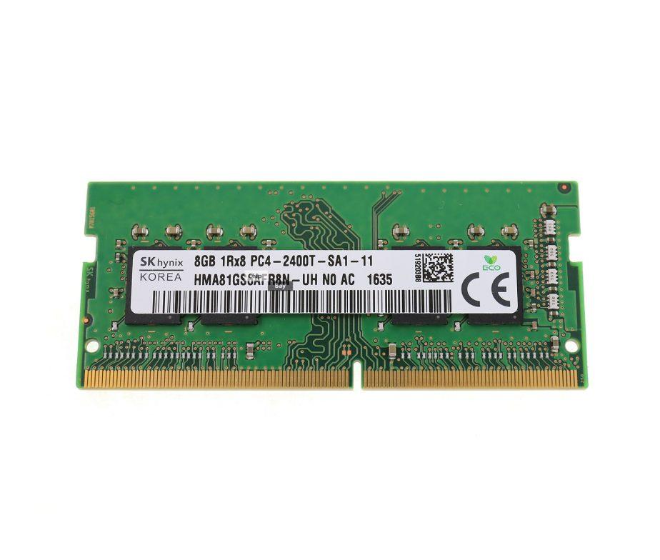 MEMÓRIA NOTEBOOK HP SK HYNIX 8GB DDR4 2400MHZ PC4-19200 CL17 NON ECC P/N 855843-371