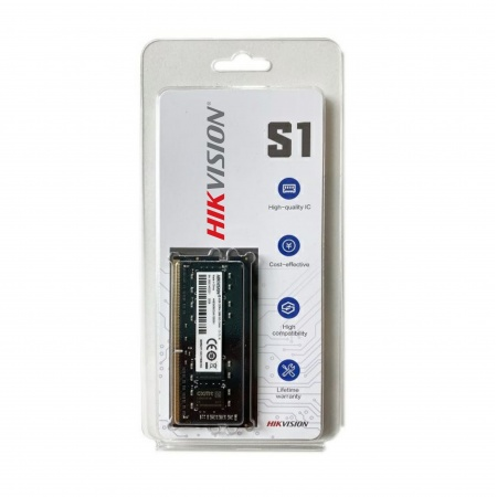 MEMORIA P/ NOTEBOOK HIKVISION S1 4GB DDR3 1600MHZ 135V