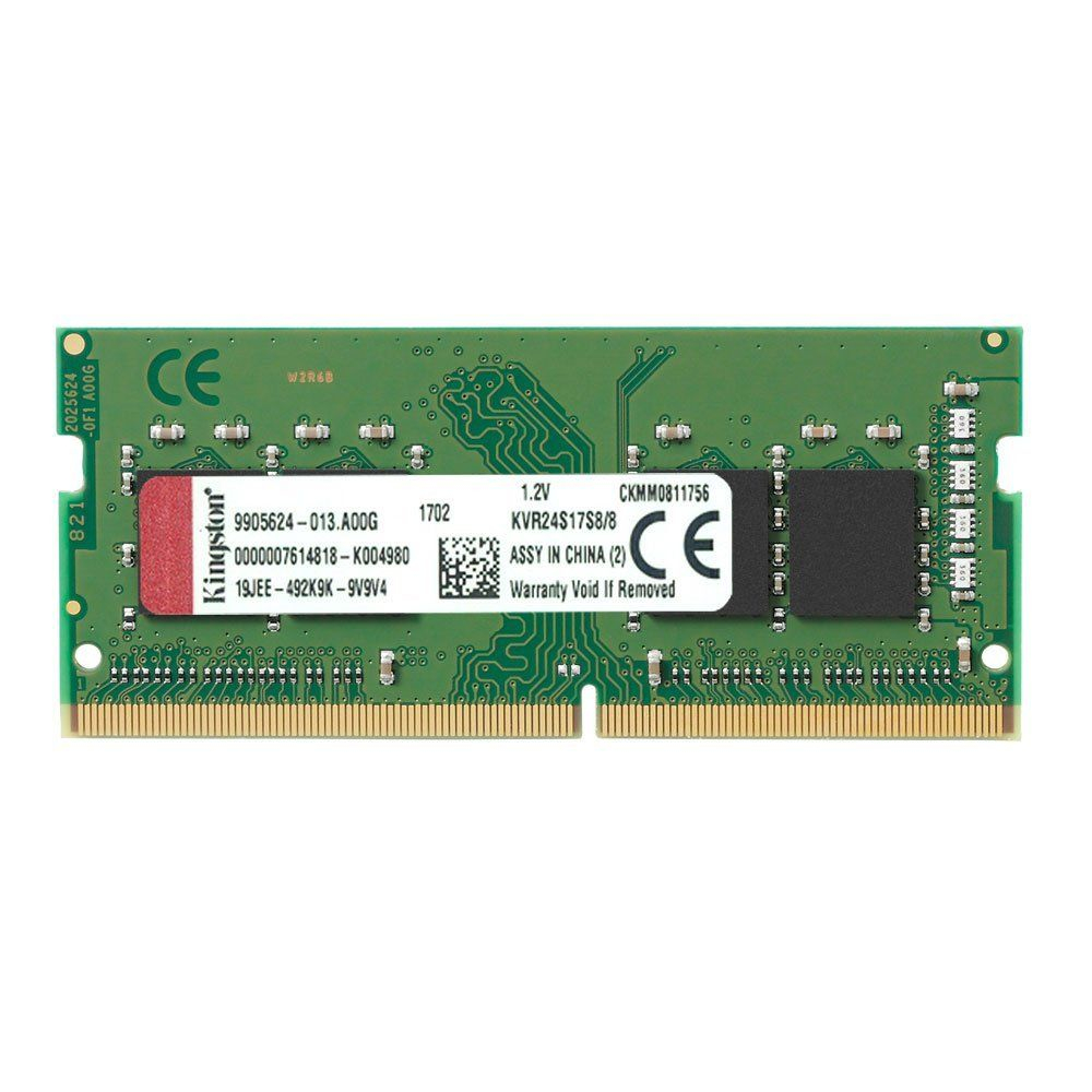 MEMÓRIA PARA NOTEBOOK KINGSTON 8GB DDR4 2400MHZ KVR24S17S8/8