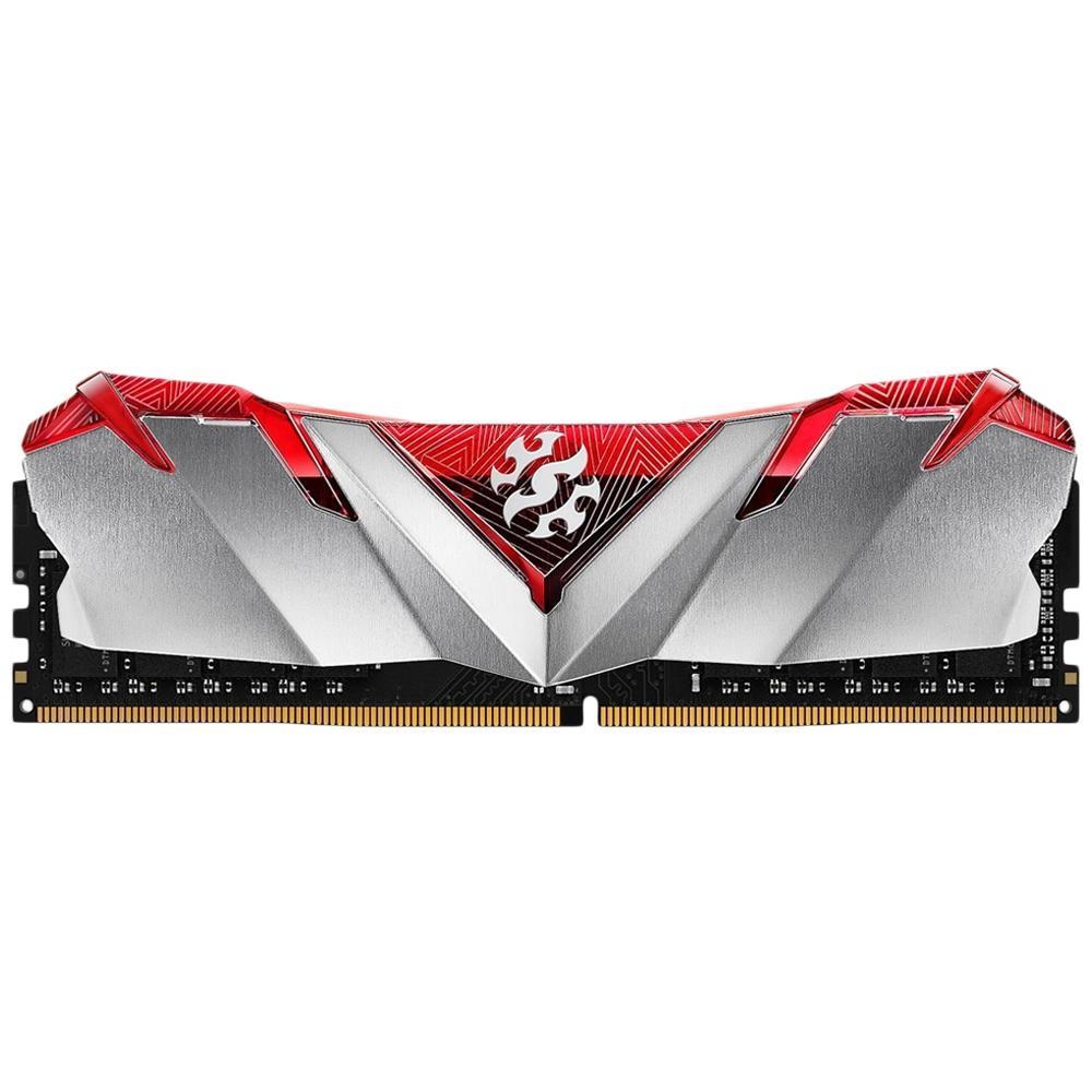 MEMÓRIA XPG GAMMIX D30 8GB, DDR4, 3200MHZ, UDIMM, CL16, VERMELHA - AX4U320038G16A-SR30
