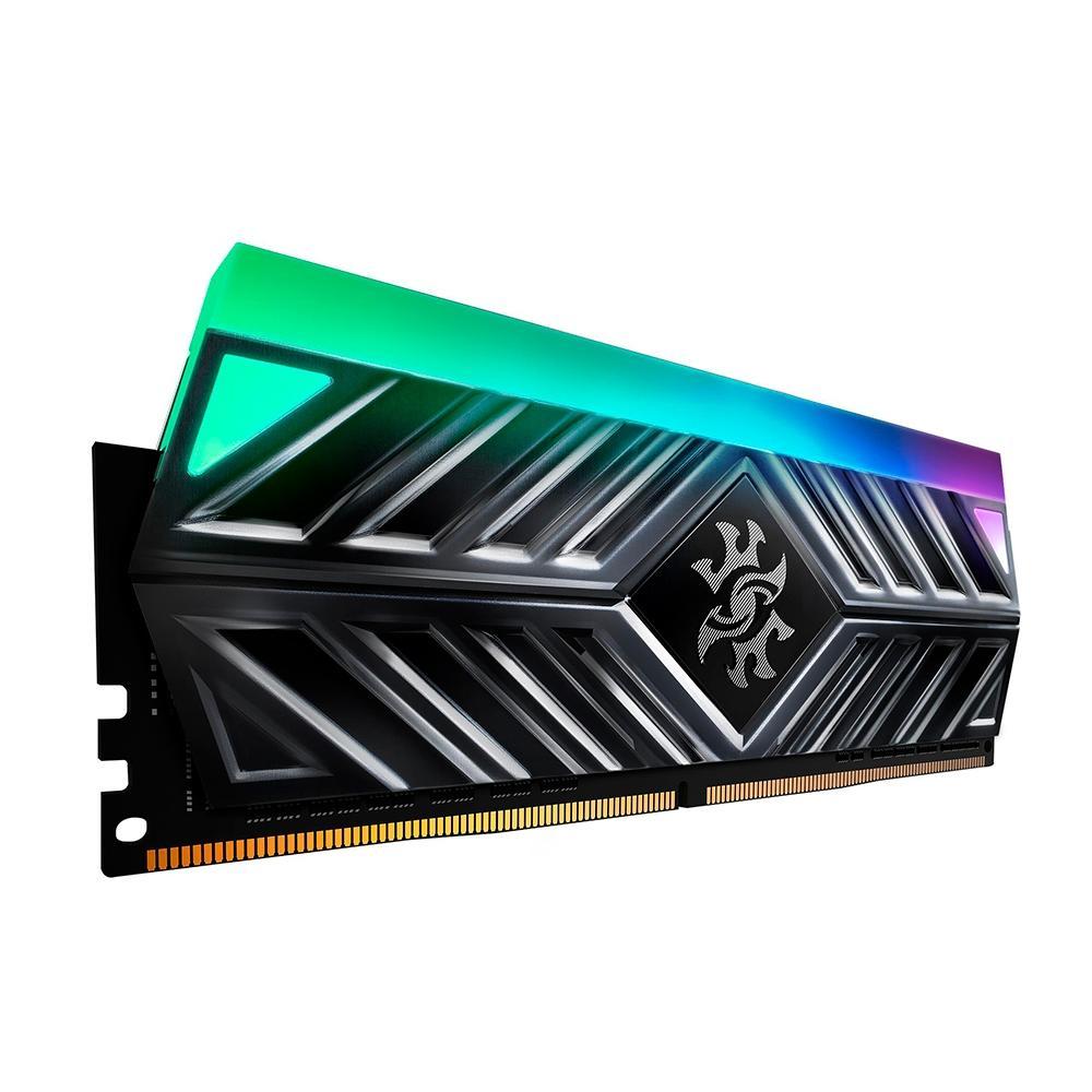 MEMÓRIA XPG SPECTRIX D41 8GB, DDR4, 3000MHZ, UDIMM, CL16, LED RGB - AX4U300038G16A-ST41
