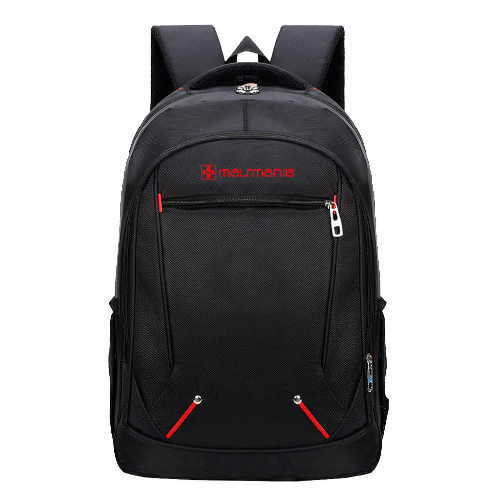 MOCHILA P NOTEBOOK MAIS MANIA PRETO BASIC