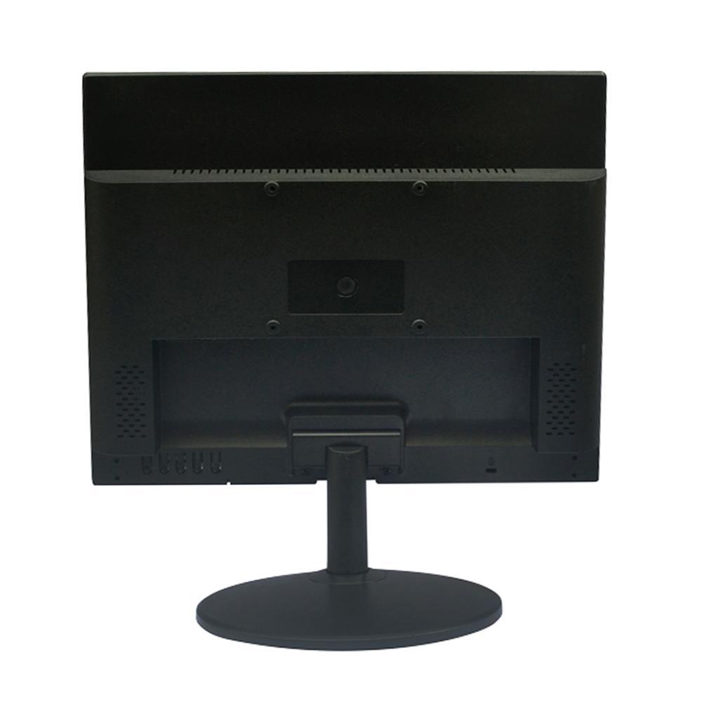 "MONITOR PCTOP 17"", LED, SLIM, VGA, HDMI, AJUSTE DE ÂNGULO, PRETO - MLP170HDMI"