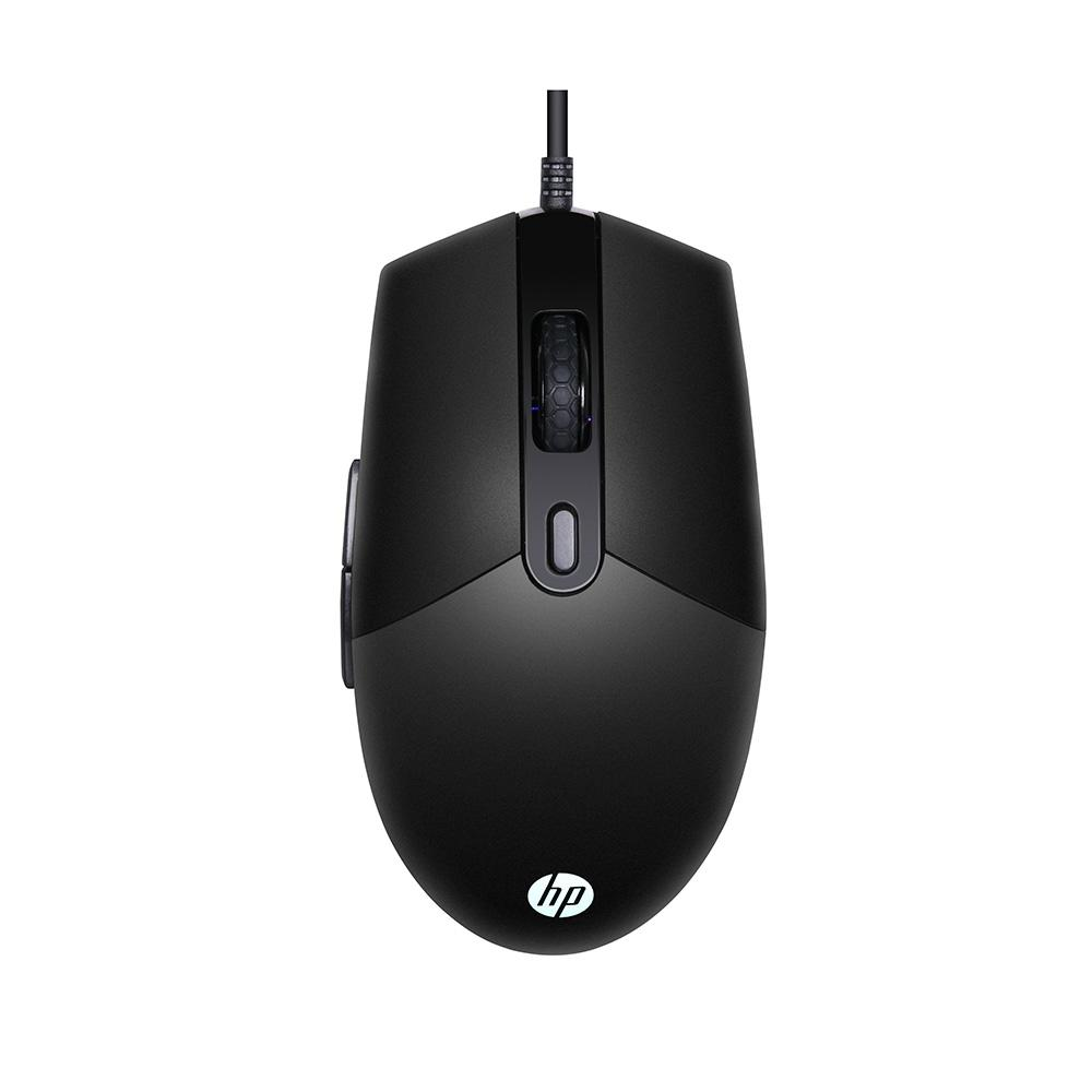 MOUSE GAMER HP M260, 6400DPI, RGB, PRETO, USB