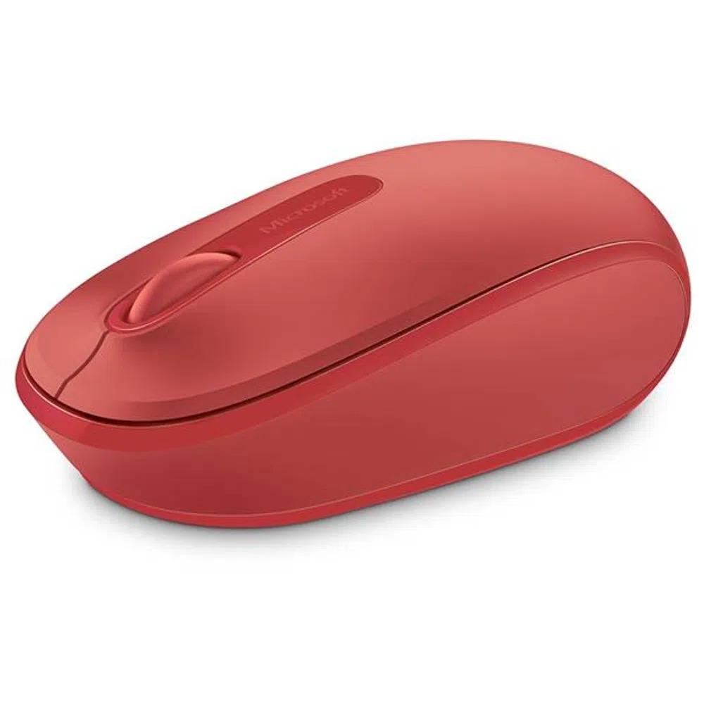 MOUSE MICROSOFT 1850 SEM FIO MOBILE USB VERMELHO U7Z00038