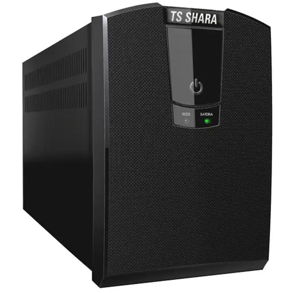 NOBREAK TS SHARA UPS PROFESSIONAL UNIVERSAL 1500VA, BIVOLT, 8 TOMADAS 115V/220V, PRETO - 4436