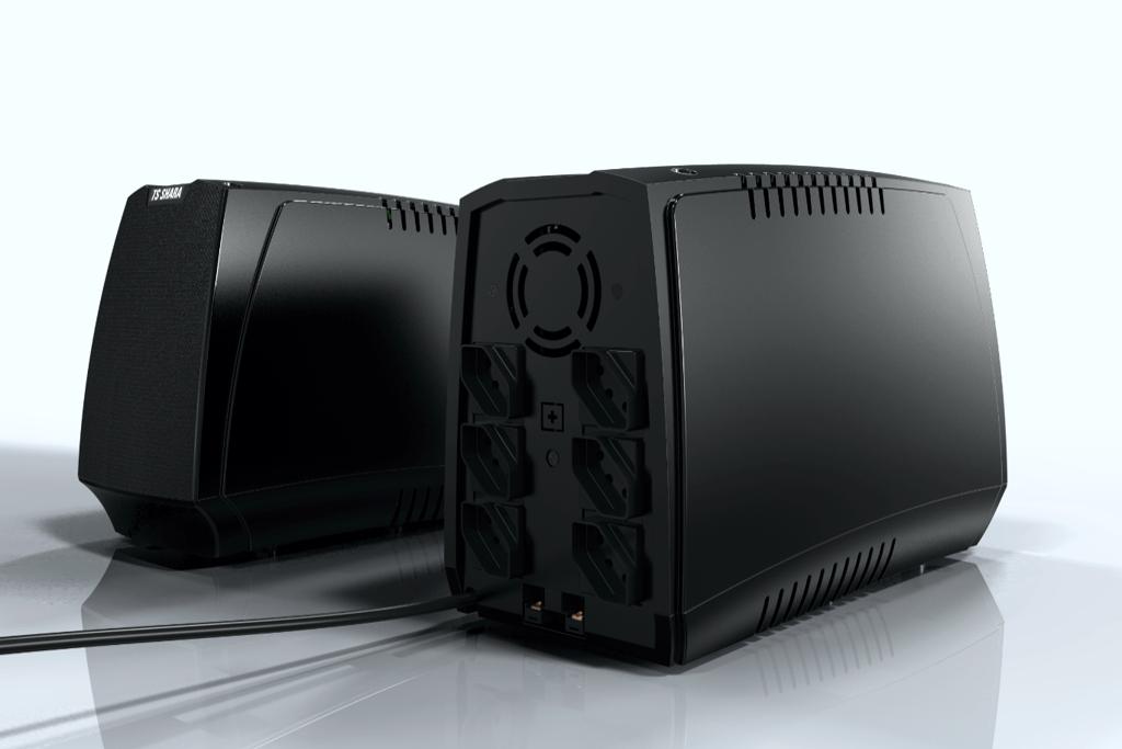 NOBREAK UPS COMPACT XPRO 1000VA TS SHARA, BIVOLT, 12VDC, PRETO - 4444