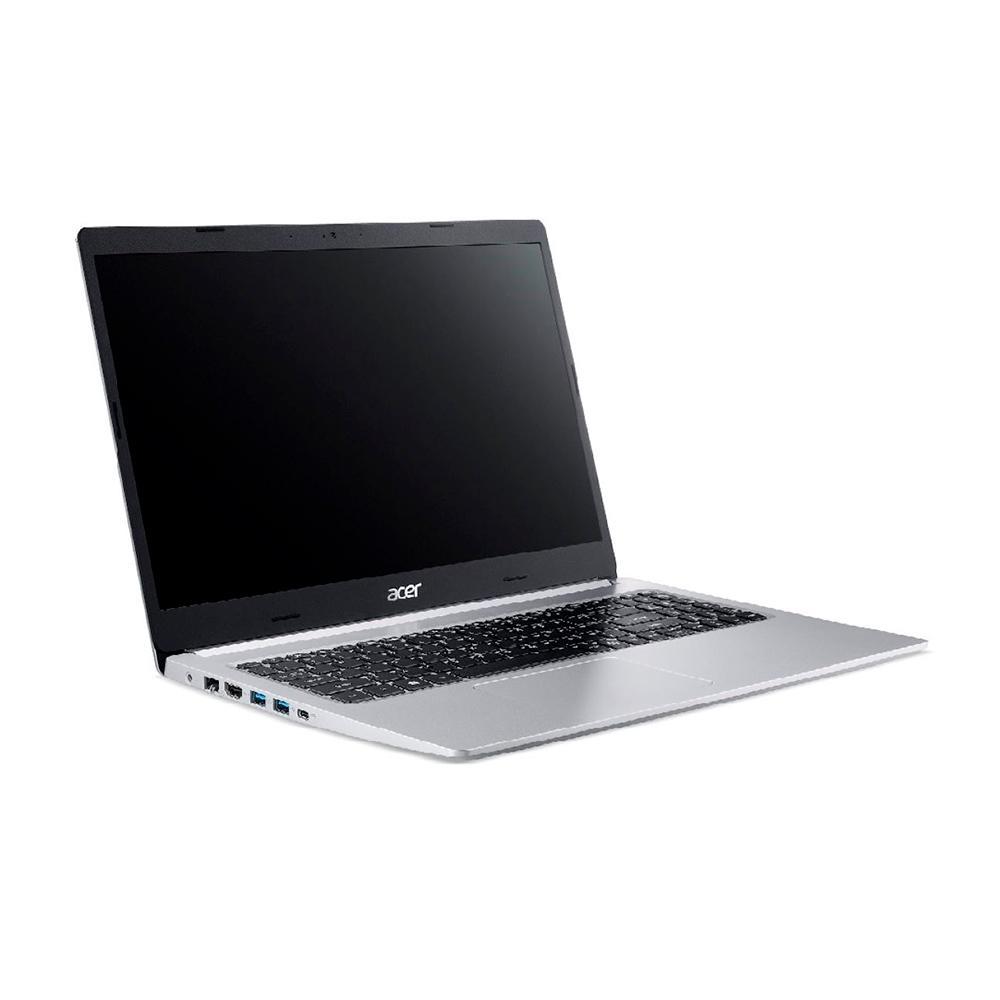 """NOTEBOOK ACER ASPIRE 5 A515-54-557C INTEL CORE I5-10210U, 4GB RAM, 256GB, HD 15.6"""", PRATA"""