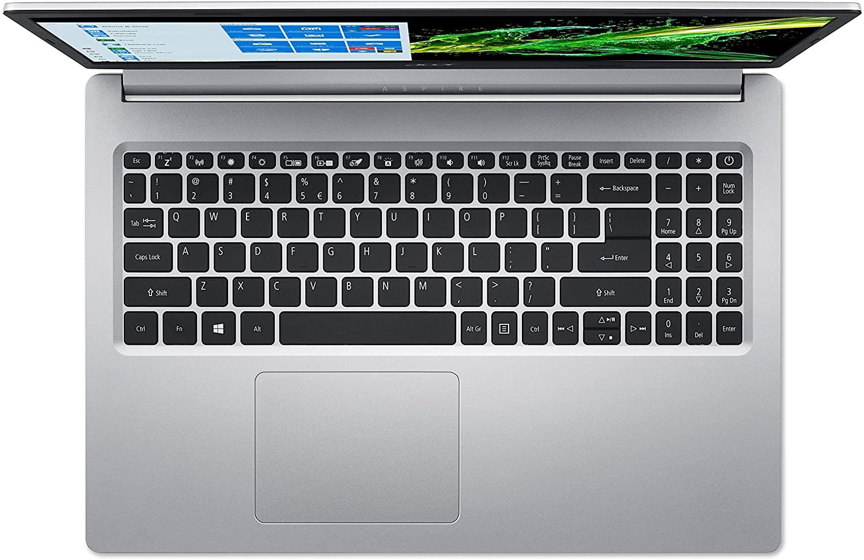 NOTEBOOK ACER ASPIRE 5 A515-54G-77RU INTEL I7-10510U, GEFORCE MX250 2GB, 8GB, SSD 512GB, 15.6 PRATA
