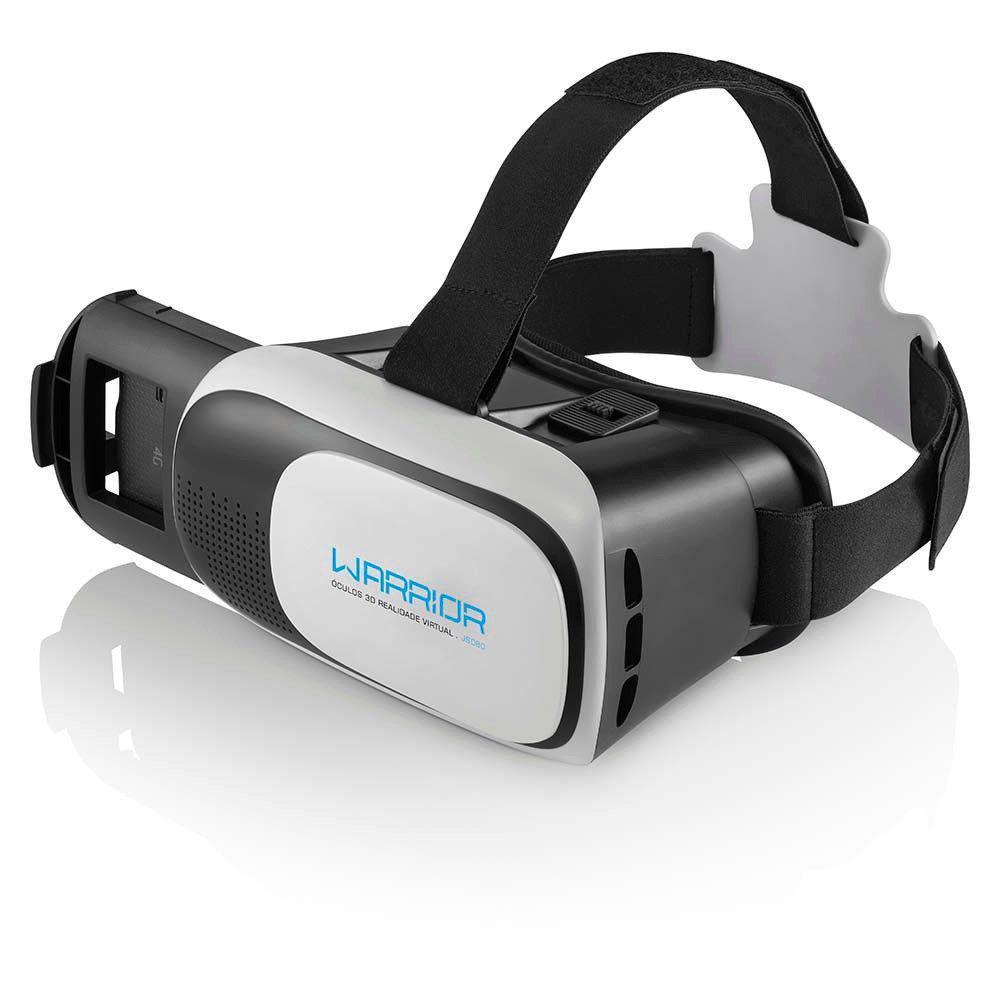 ÓCULOS PARA GAMES VR GLASS REALIDADE VIRTUAL 3D - MULTILASER