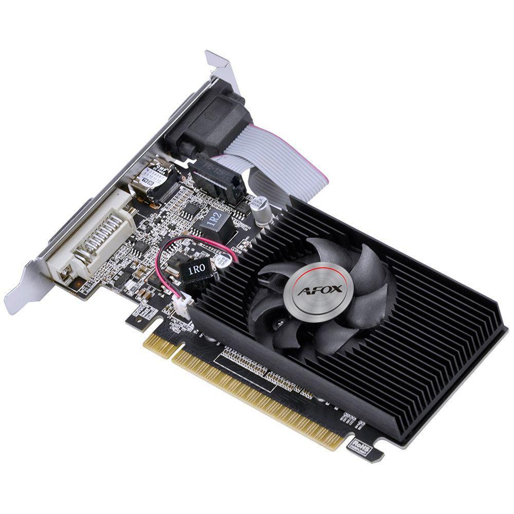 PLACA DE VÍDEO  AFOX NVIDIA GEFORCE GT730, 4GB, DDR3, 128 BITS, LOW PROFILE - AF730-4096D3L6